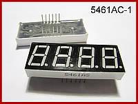Семисегментный индикатор SH5461AS, красный.