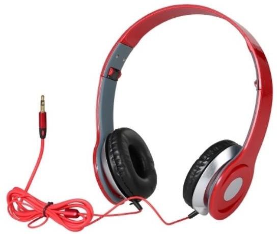 Накладні навушники MDR SOLO 9522, червоні