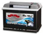 АКБ SZNAJDER Silver Premium 6СТ- 80Aз 760A R