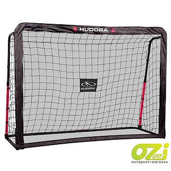 Футбольные ворота с отбивающим экраном Hudora Rebound