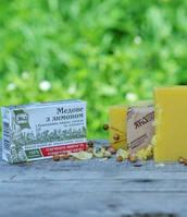 Натуральное твердое мыло Медовое с лимоном, ТМ ЯКА