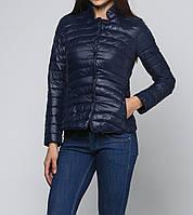 Куртка синяя демисезонная застегивается на молнию XXL B.Style