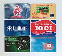 Пластиковые карты для супермаркетов