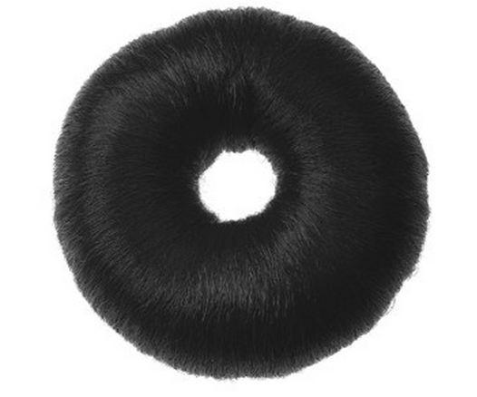 Валик для причесок круглый черный, 9см Sibel 0910832-02