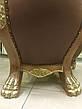 """Комплект элитной мягкой мебели, два кресла и стол """"Тет-а-Тет"""" в коже, в кабинет (В НАЛИЧИИ), фото 4"""