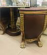 """Комплект элитной мягкой мебели, два кресла и стол """"Тет-а-Тет"""" в коже, в кабинет (В НАЛИЧИИ), фото 3"""