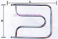 """Полотенцесушитель""""ПЛ""""  (магнитный)  нержавеющая сталь 08Х18Т1"""