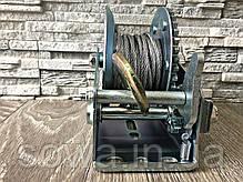 ✔️ Лебедка с крепкой стальной конструкцией - 1200 фунтів/800 кг, фото 2