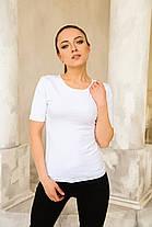 Футболка жіноча 46/M Біла