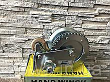 ✔️ Лебедка Автомобильная, барабанная  1200 фунтів/800 кг ( с крепкой стальной конструкцией ), фото 3