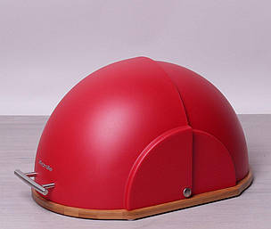 Хлібниця Kamille червона, фото 2