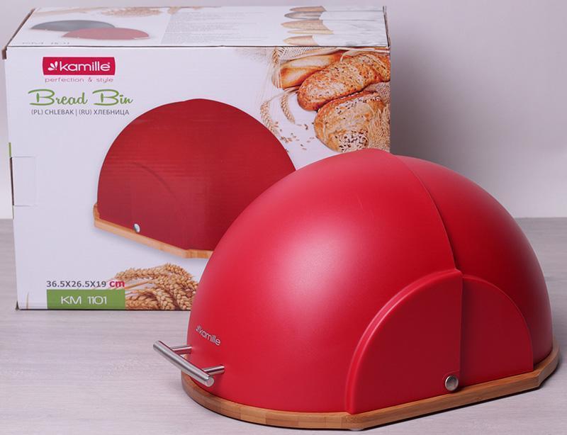 Хлібниця Kamille червона