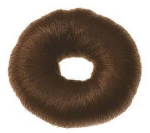 Валик для зачісок круглий коричневий, 9см Sibel 0910832-45