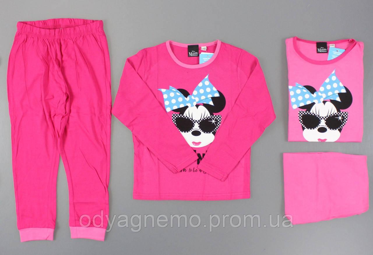 Пижама для девочек Disney оптом, 5/6-11/12 лет ., фото 1