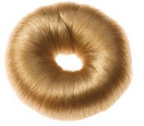 Валик для зачісок круглий блонд, 9см Sibel 0910832-52