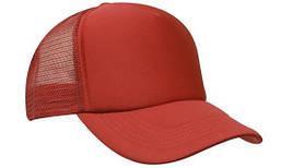 Кепка бейсболка летняя тракер красная