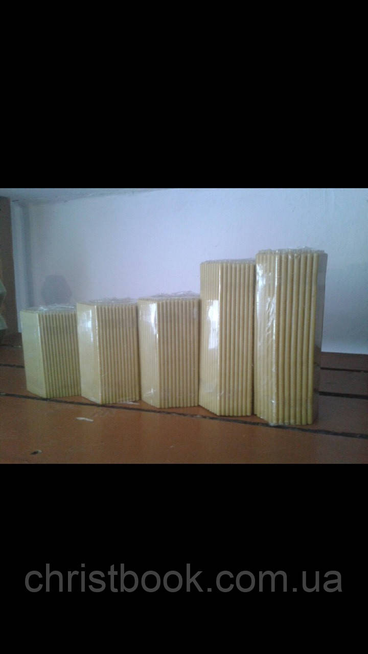 Церковні свічки в асортименті (упаковка 2 кг)