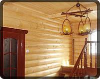 Блок хаус сосна для внутренних и наружных работ Жолква