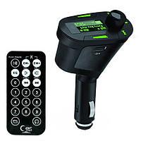 ФМ FM трансмиттер модулятор авто MP3 FM-06 Green