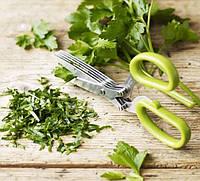 Ножницы для зелени с 5 лезвиями EM-3114 Green