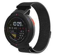 Миланский сетчатый ремешок для часов Xiaomi Amazfit Verge (A1801/A1811) - Black
