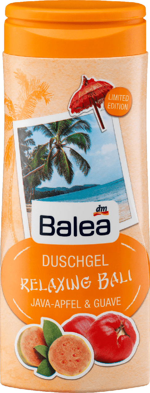Гель для душа Balea Relaxing Bali, 300 мл.