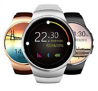 Умные часы Smart Watch F13 KW18. НАУШНИКИ В ПОДАРОК! ТОЛЬКО БЕЛЫЙ ЦВЕТ