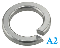 Шайба пружинная DIN 7980 нержавеющая сталь А2