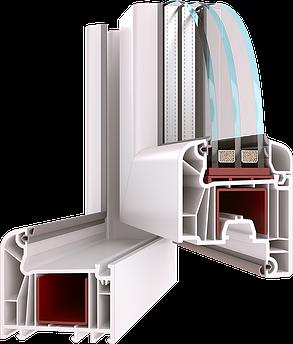 Металлопластиковое окно из профиля Wds 7 Series