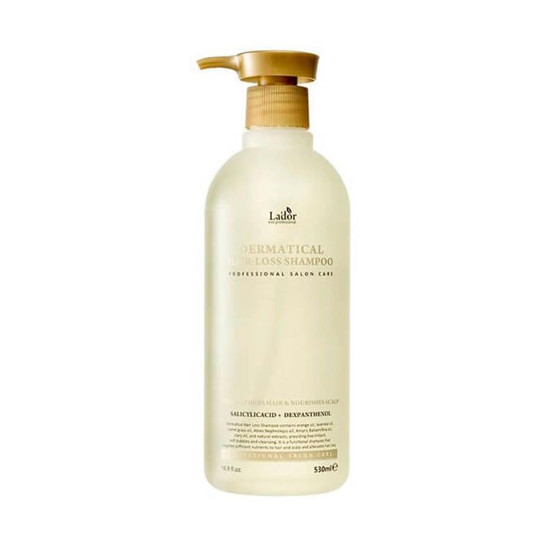 Безсульфатный шампунь против выпадения волос LA'DOR DERMATICAL HAIR-LOSS SHAMPOO, 530 мл