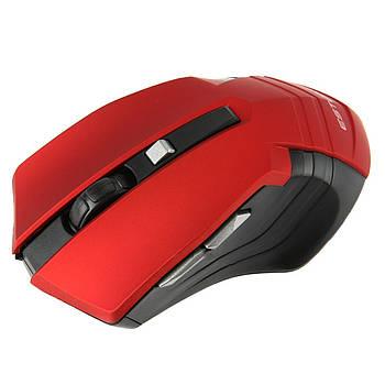 ★Мышь компьютерная iMICE E-2310 Red 800/1200/1600 DPI 6 кнопок беспроводная Радиус до 10 м для ноутбука
