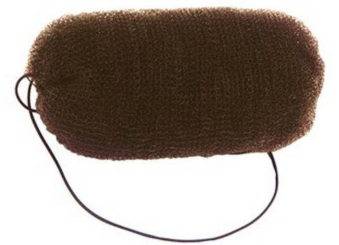 Эластичный роллер для причесок Sibel коричневый, 0922132-45