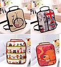 Стильный женский рюкзак с принтами, фото 5