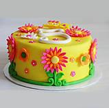 Мастика для обтягування тортів RUE FLAMBEE, 1 кг, жовта, фото 3