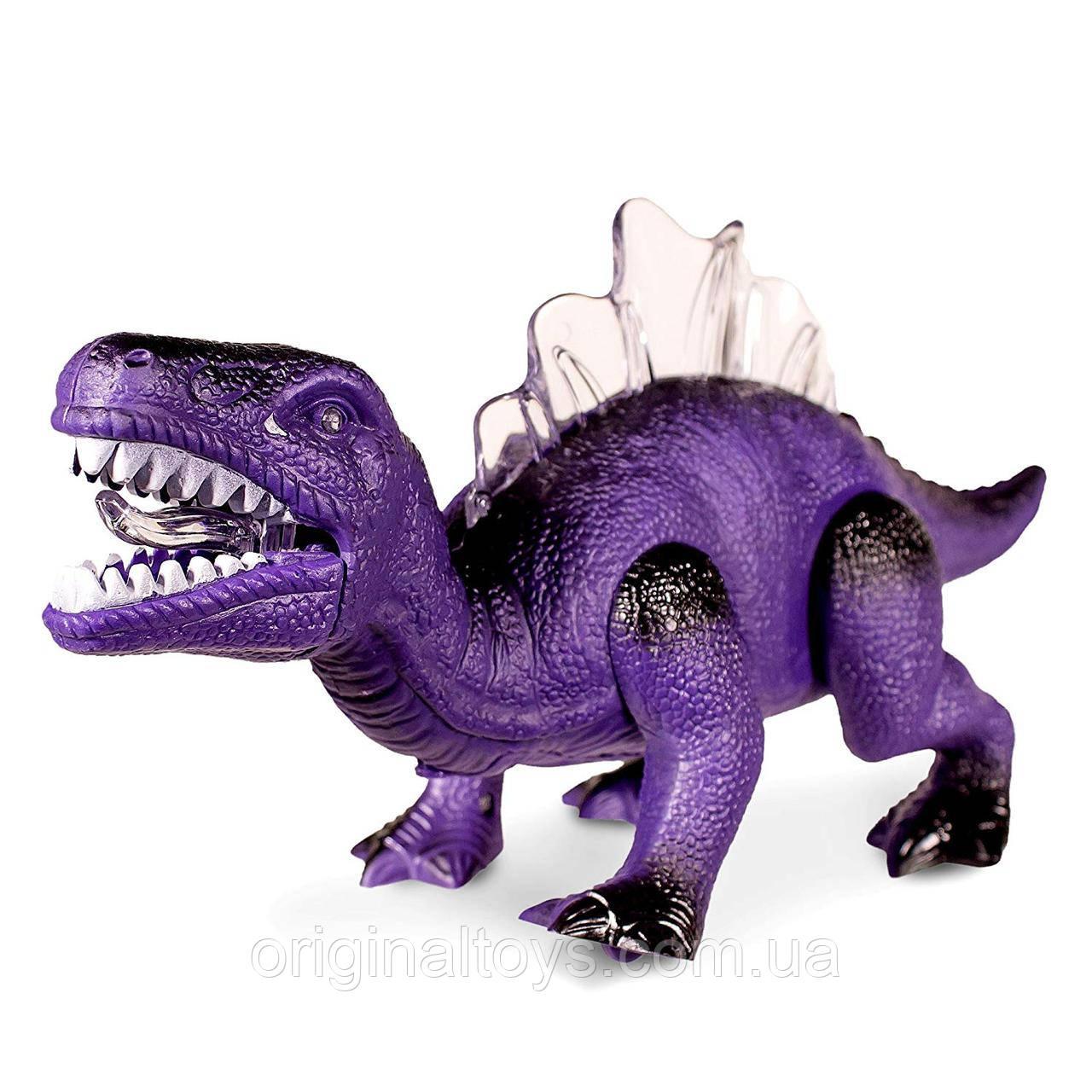 Интерактивная игрушка Динозавр, свет и звук