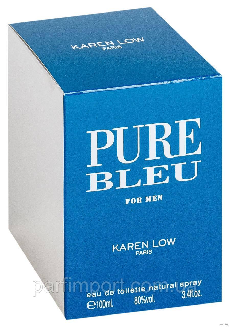 Pure Bleu Pour Homme EDT 100 ml  туалетная вода мужская (оригинал подлинник  Франция)
