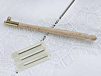 Иглы-крючок для люневильской тамбурной вышивки набор ручка + 3 иглы YL-675