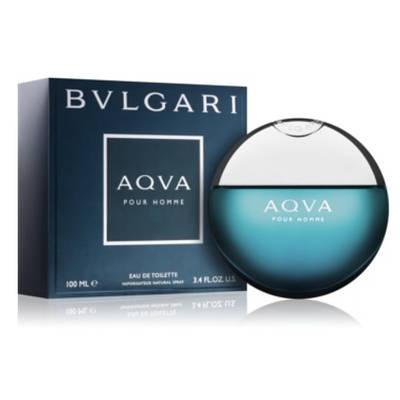 Оригінальні чоловічі парфуми BVLGARI Aqva Pour Homme 50ml туалетна вода бадьорить, цитрусовий морський аромат