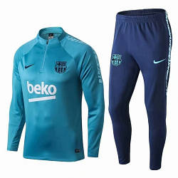 Детский Барселона голубой костюм