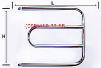 """Полотенцесушитель""""ПД""""  (магнитный)  нержавеющая сталь 08Х18Т1"""