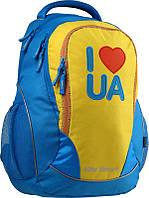 Рюкзак школьный ортопедический подростковый KITE K15-816-3L в патриотическом стиле