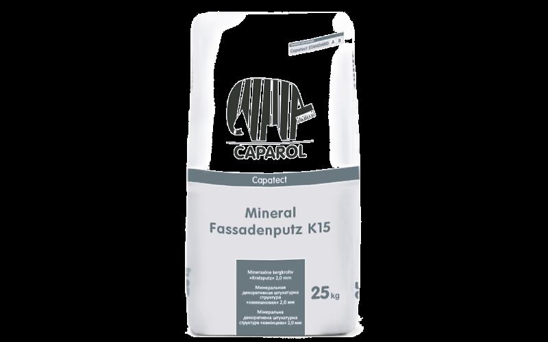 Capatect Mineral Fassadenputz K, R минеральная декоративная штукатурка для наружных и внутренних работ.