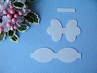 Шаблоны для бантика бабочка (3 деталей) - 40 грн