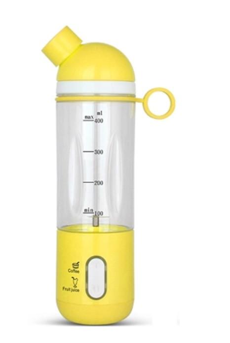 Портативний акумуляторний блендер SUNROZ J1 Juice Machine 400 мл 1150 mAh Жовтий (SUN4228)