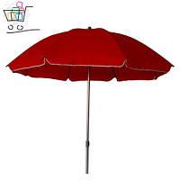 Зонт 2,5м плотный 8спиц без клапана.