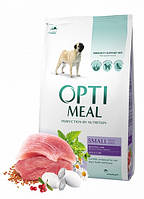 """Optimeal """"Утка"""". Пакет. Сухой корм для собак маленьких пород. 12кг."""
