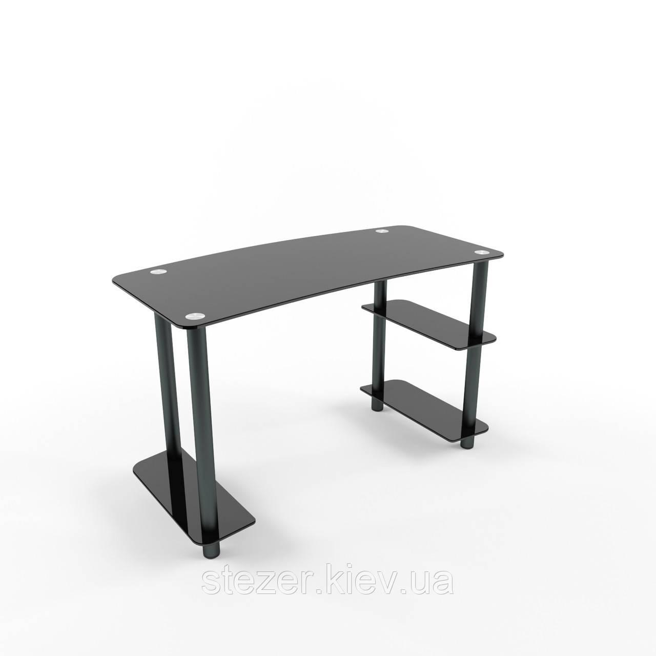 Комп'ютерний стіл з чорними ногами
