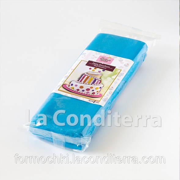 Мастика для обтяжки тортов RUE FLAMBEE, 1 кг, голубая