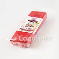 Мастика для обтяжки тортов RUE FLAMBEE, 1 кг, красная, фото 1
