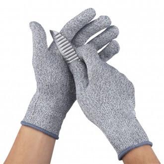 Перчатки от порезов Cut resistant gloves / порезостойкие защитные перчатки
